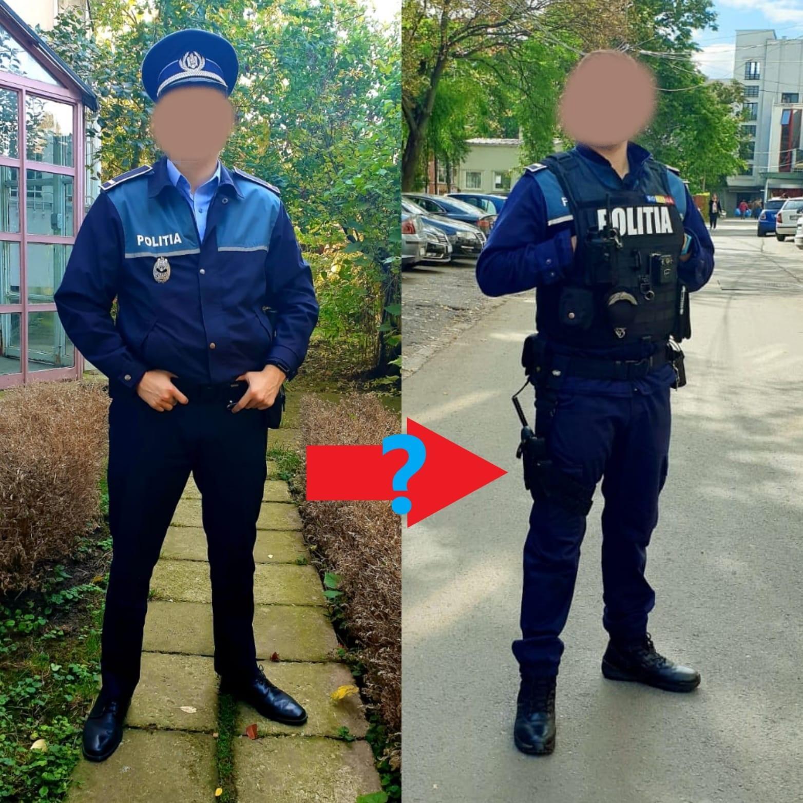 viziunea unui ofițer de poliție rutieră)